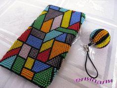 foto Crochet Beaded Bracelets, Bead Loom Bracelets, Beaded Crafts, Beaded Clutch, Beaded Purses, Beaded Bags, Crochet Ball, Bead Crochet Rope, Loom Beading