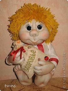 Куклы Шитьё ребятки-домовятки Капрон фото 1