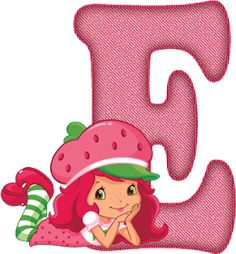 Strawberry Shortcake Pictures, Strawberry Shortcake Coloring Pages, Strawberry Shortcake Birthday, Disney Photo Frames, Father's Day Printable, Alien Drawings, Cartoon Letters, Minnie Png, Alphabet Wallpaper