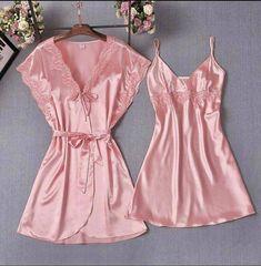 Jolie Lingerie, Women Lingerie, Sexy Lingerie, Cute Sleepwear, Tie Dye Long Sleeve, Long Sleeve Pyjamas, Lingerie Collection, Lace Trim, Night Gown