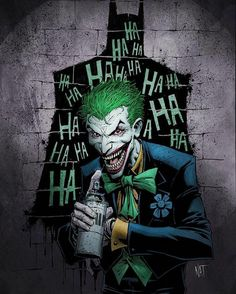 Joker loves his batman