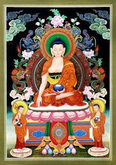 Thangka Art - Buddha Sakyamuni 釋迦牟尼佛