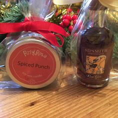 I've been creating Teacher Thank you presents and Secret Santas using our own Travel Tin candles & Sipsmith miniatures. #scentedcandles #spicedpunch #sloegin #rosyrosie