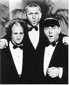The Three Stooges.  My brother and I used to rush home from school to watch the stooges each afternoon.