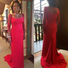 Find More Evening Dresses Information about 2016 New Arrival Elegant Appliques Long Sleeve Chiffon Mermaid Mother Of The Bride Evening Dress Celebrity Formal Party Gown,High Quality gown gown,China dress patterns evening gowns Suppliers, Cheap dresses canada from Kingshow Bridal on Aliexpress.com
