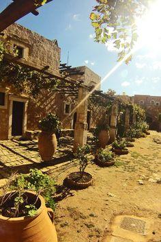 Monastery of Arkadi in Rethymno #crete #travel