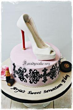 Louboutin - Sweet Seventeen Cake