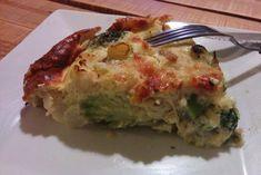 Quiche au brocolis, chou-fleur et roquefort - Mes Recettes au Cooking Chef