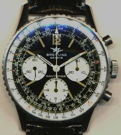 VINTAGE BREITLING AOPA 1971 TWIN JET NAVITIMER 806 MILITARY CAL 178