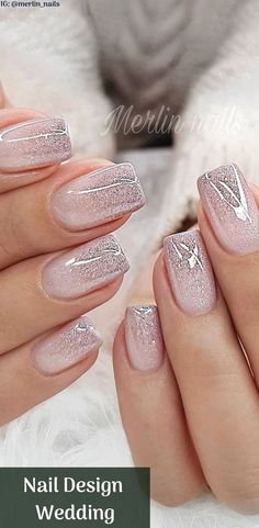 Nail Design Metalic For Wedding nails are an art expression to many brides nowad.,Nail Design Metalic For Wedding nails are an art expression to many brides nowad. Marble Nail Designs, Nail Art Designs, Gel Polish Designs, Pedicure Designs, Gel Nails, Nail Polish, Coffin Nails, Manicures, Stiletto Nails