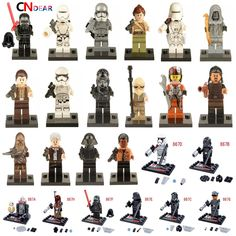 Star Wars 7 The Force Awakens Finn Rey Kylo Ren The Force Awakens Jedi Mini Building Blocks Bricks Toys   Price: 0.19 USD