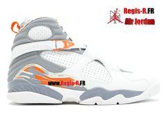 innovative design c6abd fb43b Air Jordan 8 Retro - Chaussures Basket Jordan Pas Cher Pour Homme…