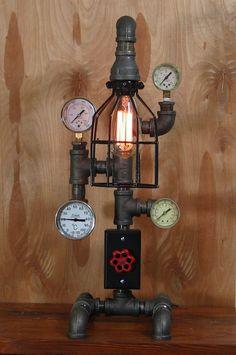 Original OOAK Handmade  Industrial Machine Age by MissionWorks2012