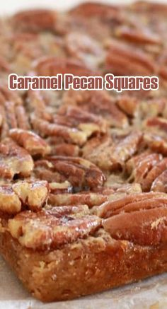 Pecan Recipes, Caramel Recipes, Chocolate Recipes, Fall Recipes, Cookie Recipes, Dessert Recipes, Caramel Cakes, Copycat Recipes, Pecan Desserts