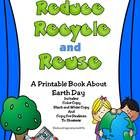 Earth Day - Reduce, Recycle, and Reuse Printable Book