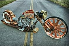 (Steampunk Rat Bike)