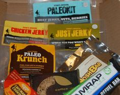 Lil Beast Box paleo snack box gift package steve's original amrap caveman cookie joe bar