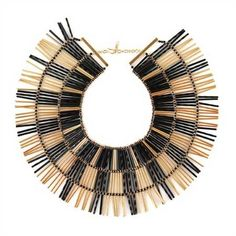 Noir-bugle-bead-necklace