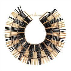 Noir-bugle-bead-necklace