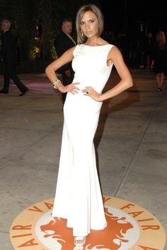 Victoria Beckham - What: Azzedine Alaia Where: Oscars After-Party Getty Images  - HarpersBAZAAR.com