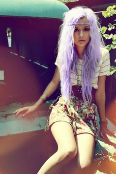 lavender- holy is it crazy that im CRAZY IN LOVE with this