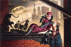 Catwoman | Jim Balent: one of my FAVORITE comic book artists!!!