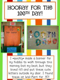 Day of School Activities. Roll to 100 freebie. 100 Days Of School, School Fun, School Stuff, School Holidays, School Ideas, Kindergarten Projects, Teaching Kindergarten, Teaching Ideas, Learning Through Play