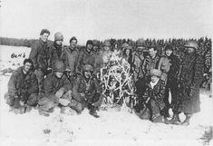 December 25, 1944, Ardennes Forest.