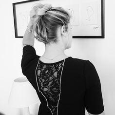 Robe monshoowroom #leschignonsdejo #chignon #hair #braid #blonde #blog #style #dress