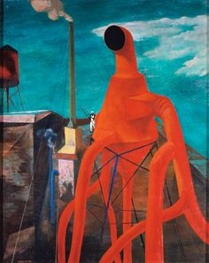 Arthur Osver (1912-2006) - Red Ventilator, 1945