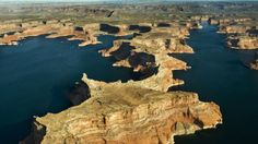 canyon swimming in colorado Lake Powell, The Great Outdoors, My Dream, Colorado, Swimming, America, Water, Places, Holiday