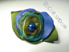 spf5 spilla fiore di stoffa di decorandom su Etsy