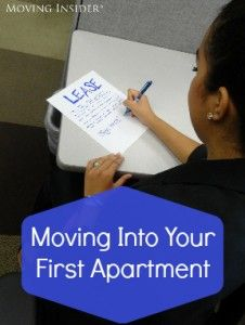 Signing the lease and moving into your first apartment? Here's what you should know...