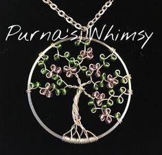 Spring Tree Pendant - Purna's Whimsy