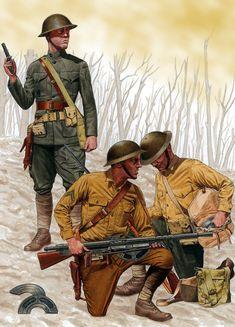 US 5th Marine Regiment, Belleau Wood, June 1918