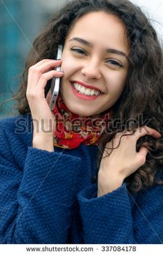 Woman speaks on the phone walking on a city street in a blue coat - stock photo Blue Coats, City Streets, Walk On, Dreadlocks, Stock Photos, Woman, Phone, Hair Styles, Beauty