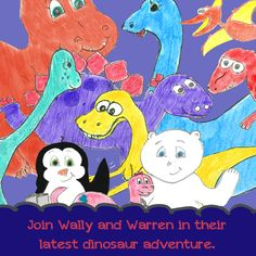#Wally and Warren #Amazon.com #Dinosaurs #Adventure  book 4 of the series