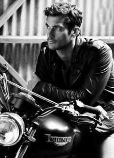 David Gandy and Triumph Motorcycles