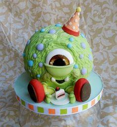 Little Monster's 1st Birthday By cake_whisperer on CakeCentral.com