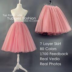 Yuppies Fashion 6 Layers 25.5″ Long ...