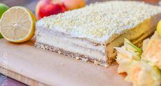 Prăjitură Regina Esther    Dulcinele Romanian Desserts, Vanilla Cake, Sweet Treats, Cheesecake, Mac, Sweets, Candy, Cheesecakes, Cherry Cheesecake Shooters