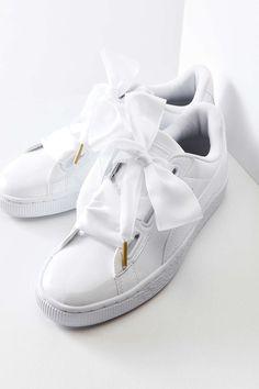 b869486b540f PUMA Low-Top Puma Basket heart Puma Bow Sneakers