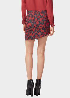 Camouflage Jacquard Mini -Skirt - B4218 Women