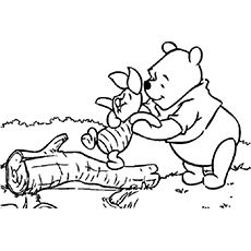 winnie the pooh coloring page print winnie the pooh pictures to