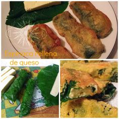 Cocina Costarricense: rollos espinaca y queso