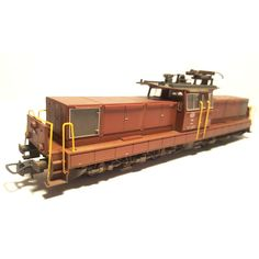 Catawiki online auction house: Kato/Hobbytrain H0 - J880 (61661) - Weathered heavy electric shunting locomotive Ee 6/6 II SLM-BBC of the SBB CFF