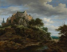 Bentheim - Jacob van Ruisdael
