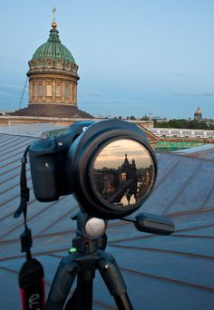 St Petetsberg Russia ~Reflections~through the lens
