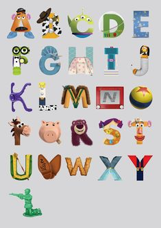 disney character letters - Google Search