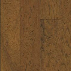 Bruce Locking Distressed 5-in W Prefinished Hickory Locking Hardwood Flooring (Classic Brown)